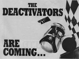 Advert for Deactivators on the Amstrad CPC.