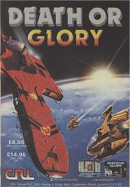 Advert for Death or Glory on the Commodore 64.