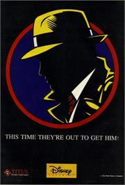 Advert for Dick Tracy on the Commodore 64.