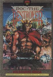 Advert for Doc the Destroyer on the Commodore 64.