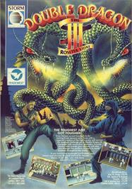 Advert for Double Dragon on the Commodore 64.