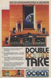 Advert for Double Take on the Commodore 64.