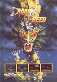 Advert for Dragon Breed on the Commodore 64.