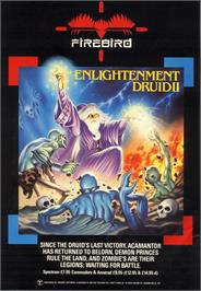 Advert for Druid II: Enlightenment on the Amstrad CPC.
