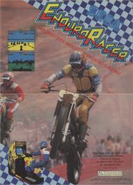 Advert for Enduro Racer on the Commodore 64.