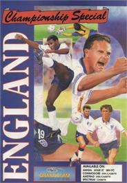 Advert for England Championship Special on the Atari ST.