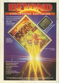 Advert for Enigma Force on the Commodore 64.