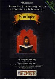 Advert for Fairlight: A Prelude on the Commodore 64.
