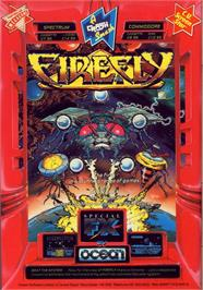 Advert for Firefly on the Commodore 64.
