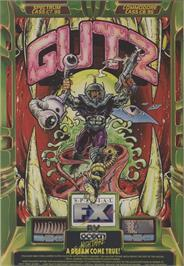 Advert for G.U.T.Z. on the Commodore 64.