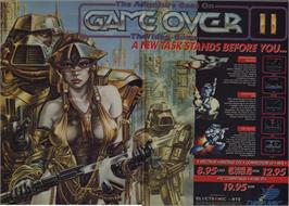 Advert for Game Over on the MSX 2.