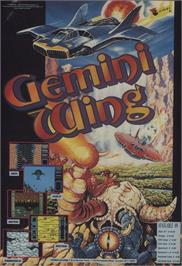 Advert for Gemini Wing on the Commodore 64.