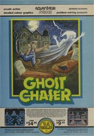 Advert for Ghost Chaser on the Atari 8-bit.