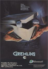 Advert for Gremlins on the Apple II.
