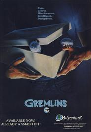 Advert for Gremlins 2: The New Batch on the Commodore 64.