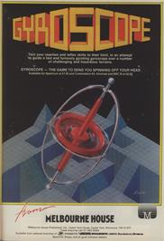 Advert for Gyroscope on the Commodore 64.
