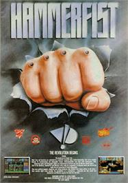 Advert for Hammerfist on the Commodore Amiga.