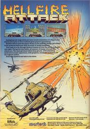 Advert for Hellfire Attack on the Commodore Amiga.