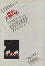 Advert for High Frontier on the Commodore 64.