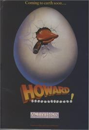 Advert for Howard the Duck on the Commodore 64.
