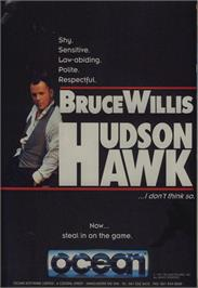 Advert for Hudson Hawk on the Commodore 64.