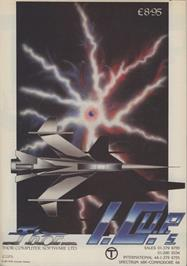 Advert for I.C.U.P.S. on the Commodore 64.