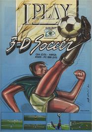 Advert for I Play 3-D Soccer on the Commodore 64.