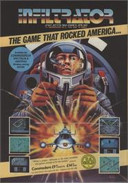 Advert for Infiltrator on the Microsoft DOS.