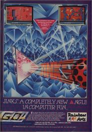 Advert for Jinks on the Commodore 64.
