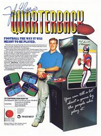 Advert for John Elway's Quarterback on the Amstrad CPC.