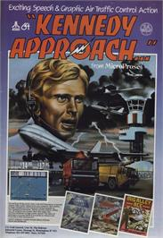 Advert for Kennedy Approach on the Commodore 64.
