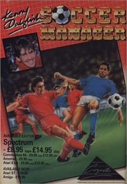 Advert for Kenny Dalglish Soccer Manager on the Commodore 64.