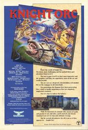 Advert for Knight Orc on the Amstrad CPC.