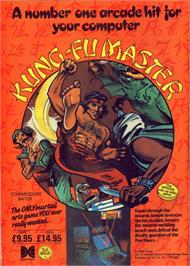 Advert for Kung-Fu Master on the Commodore 64.