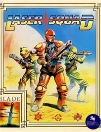 Advert for Laser Squad on the Commodore 64.