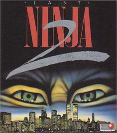 Advert for Last Ninja 2: Back with a Vengeance on the Commodore 64.