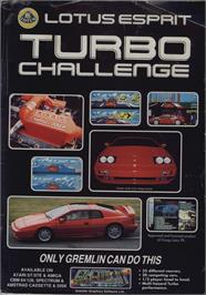 Advert for Lotus Esprit Turbo Challenge on the Commodore 64.