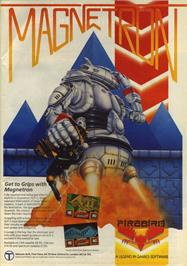 Advert for Magnetron on the Commodore 64.