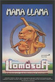 Advert for Mama Llama on the Commodore 64.