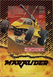 Advert for Marauder on the Commodore 64.