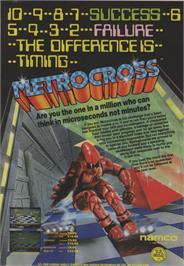 Advert for Metro Cross on the Commodore 64.
