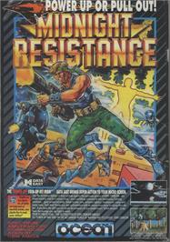 Advert for Midnight Resistance on the Commodore 64.