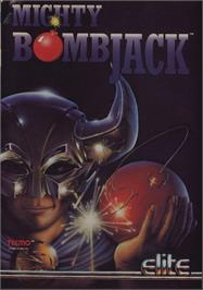 Advert for Mighty Bombjack on the Commodore 64.