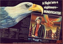 Advert for Mindfighter on the Commodore 64.