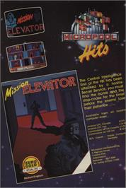 Advert for Mission Elevator on the Sinclair ZX Spectrum.