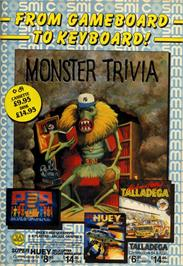 Advert for Monster Trivia on the Commodore 64.