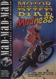 Advert for Motorbike Madness on the Commodore 64.