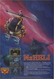 Advert for Mr. Heli on the Atari ST.