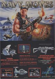 Advert for Navy Moves on the Amstrad CPC.