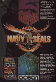 Advert for Navy Seals on the Commodore 64.